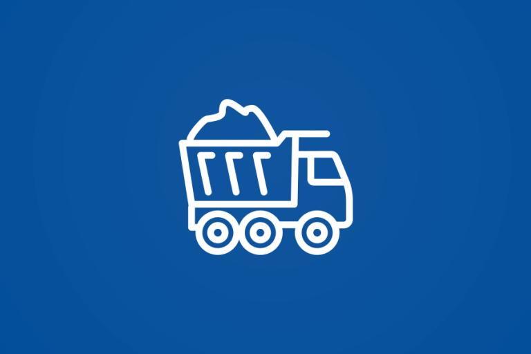 Leerung der Depotcontainer (Altpapier) im Zweischichtsystem