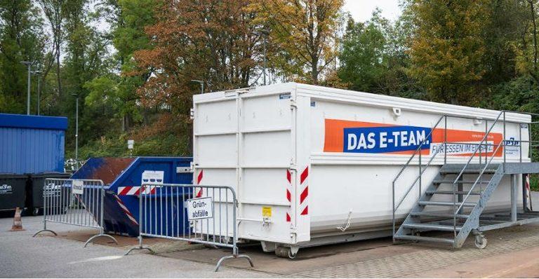 EBE-Recyclingstation Pferdebahnstraße am Samstag, 31. Juli, geschlossen