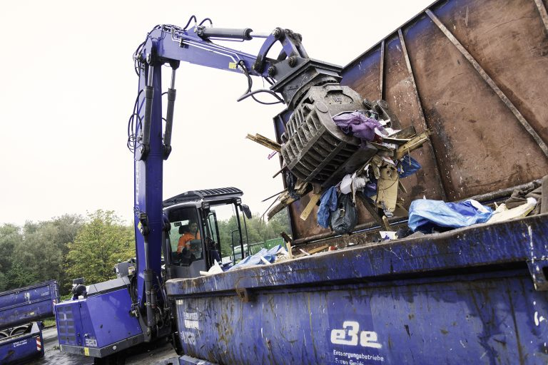 Unwetterschäden beseitigt: Recyclinghof Werden wieder geöffnet