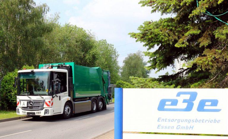 Neuer EBE-Abfallwagen entsorgt klimafreundlich