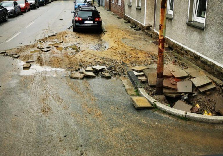 Hochwasser: EBE reagiert auf hohes Sperrmüllaufkommen