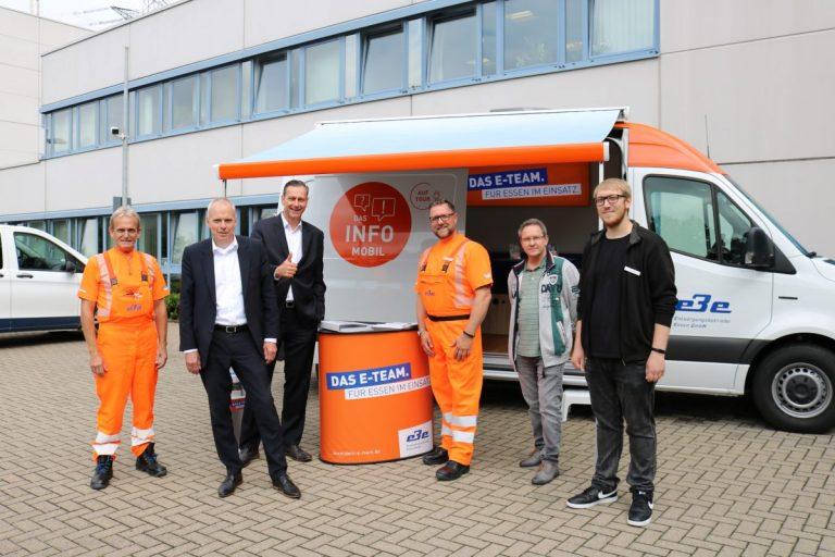 Von Karnap bis Kettwig: EBE-Infomobil tourt durch Essen