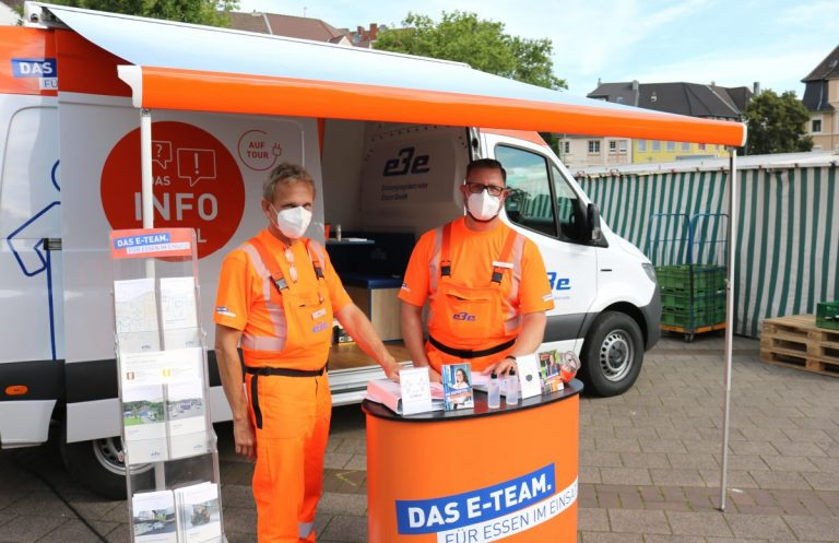 Schadstoffsammlung und Infomobil in Essen unterwegs