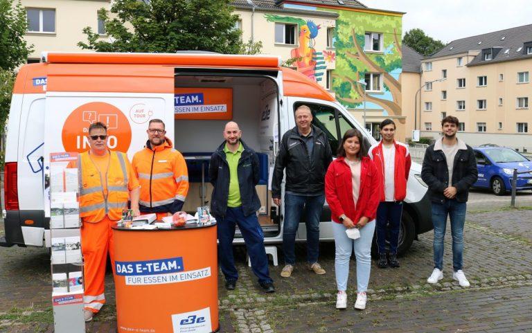 EBE und Allbau informieren in Wohnquartieren zu Abfall und Entsorgung